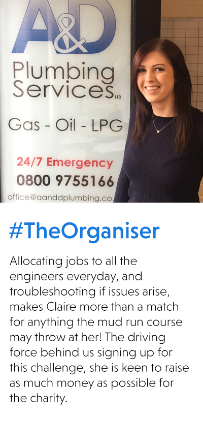 Claire #TheOrganiser