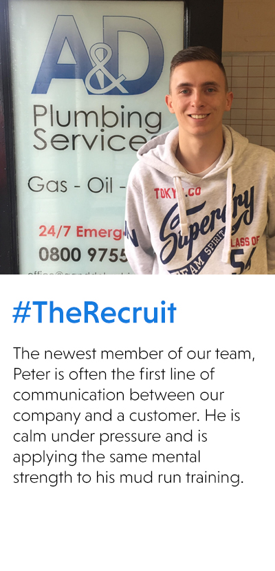 Peter #TheRecruit